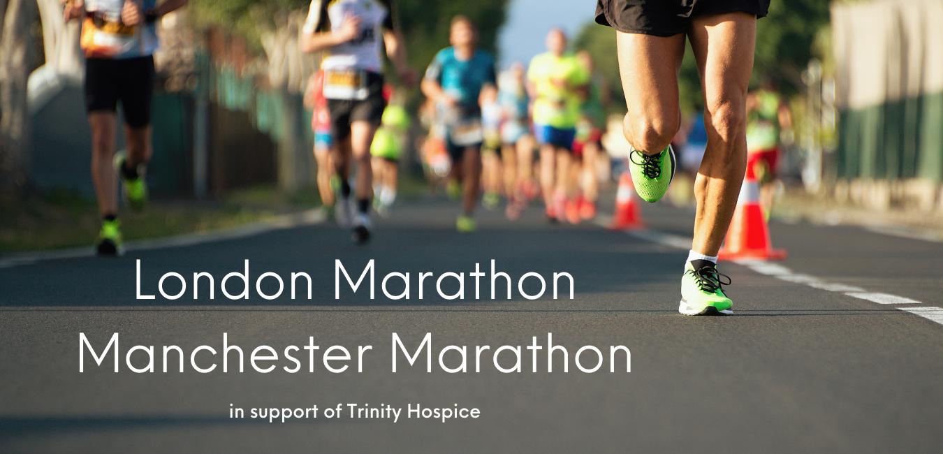 London Marathon Manchester Marathon
